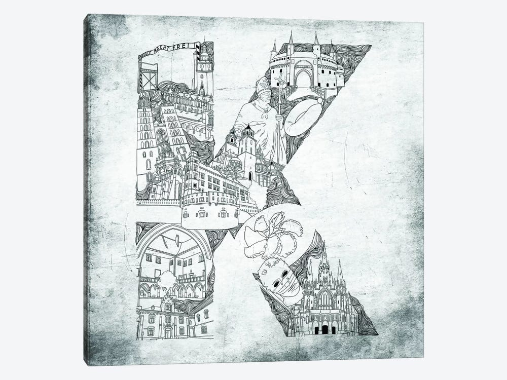 Krakow by 5by5collective 1-piece Art Print