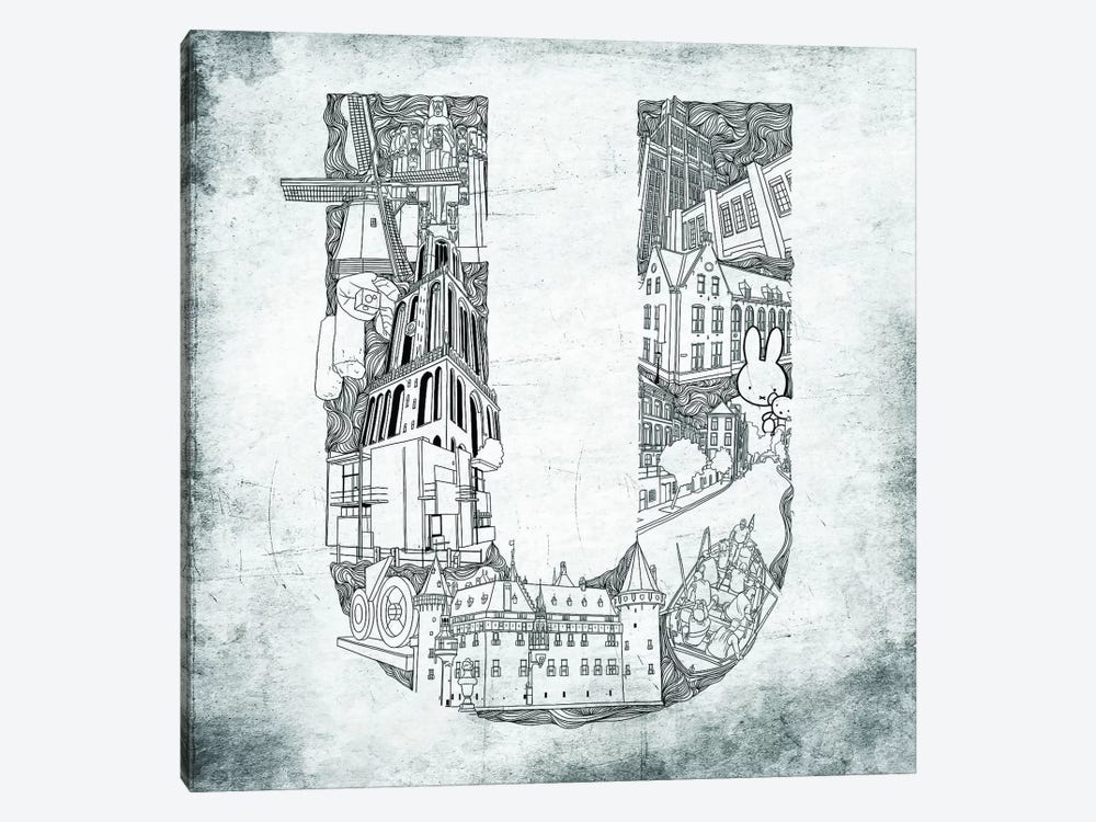 Utrecht by 5by5collective 1-piece Canvas Artwork