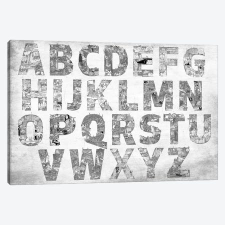 City Alphabet Canvas Print #CALP28} by 5by5collective Canvas Art Print