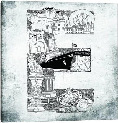 Edinburgh Canvas Print #CALP5
