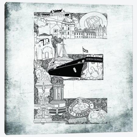 Edinburgh Canvas Print #CALP5} by 5by5collective Canvas Artwork