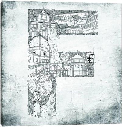 Florence Canvas Print #CALP6