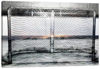 Hockey Goal Gate #2 Canvas Print #CAN10B