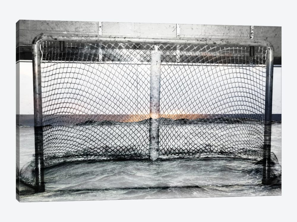 Hockey Goal Gate #2 by Unknown Artist 1-piece Art Print