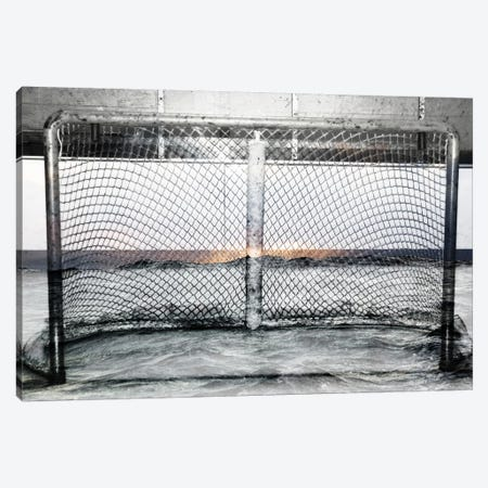 Hockey Goal Gate #2 Canvas Print #CAN10B} by Unknown Artist Art Print