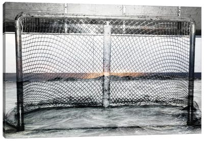 Hockey Goal Gate #2 Canvas Art Print