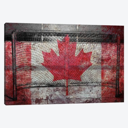 Hockey Goal Gate #3 Canvas Print #CAN10C} by Unknown Artist Canvas Art Print