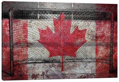 Hockey Goal Gate #3 Canvas Art Print