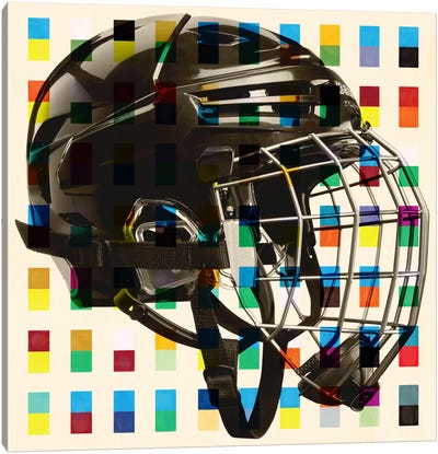 Hockey Mask Canvas Print #CAN11A