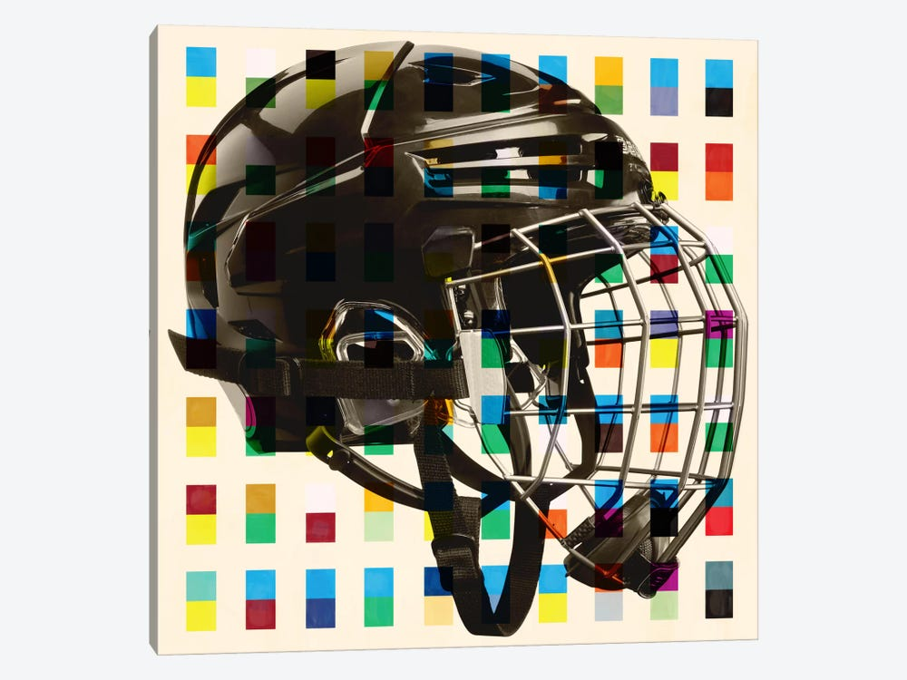 Hockey Mask by iCanvas 1-piece Art Print