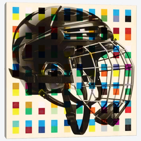Hockey Mask Canvas Print #CAN11A} by Unknown Artist Canvas Wall Art