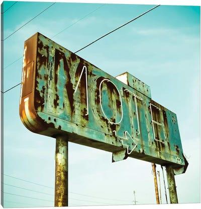 Vintage Motel I Canvas Art Print