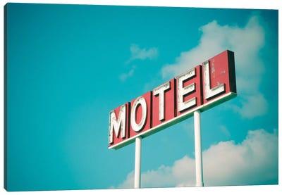 Vintage Motel IV Canvas Art Print