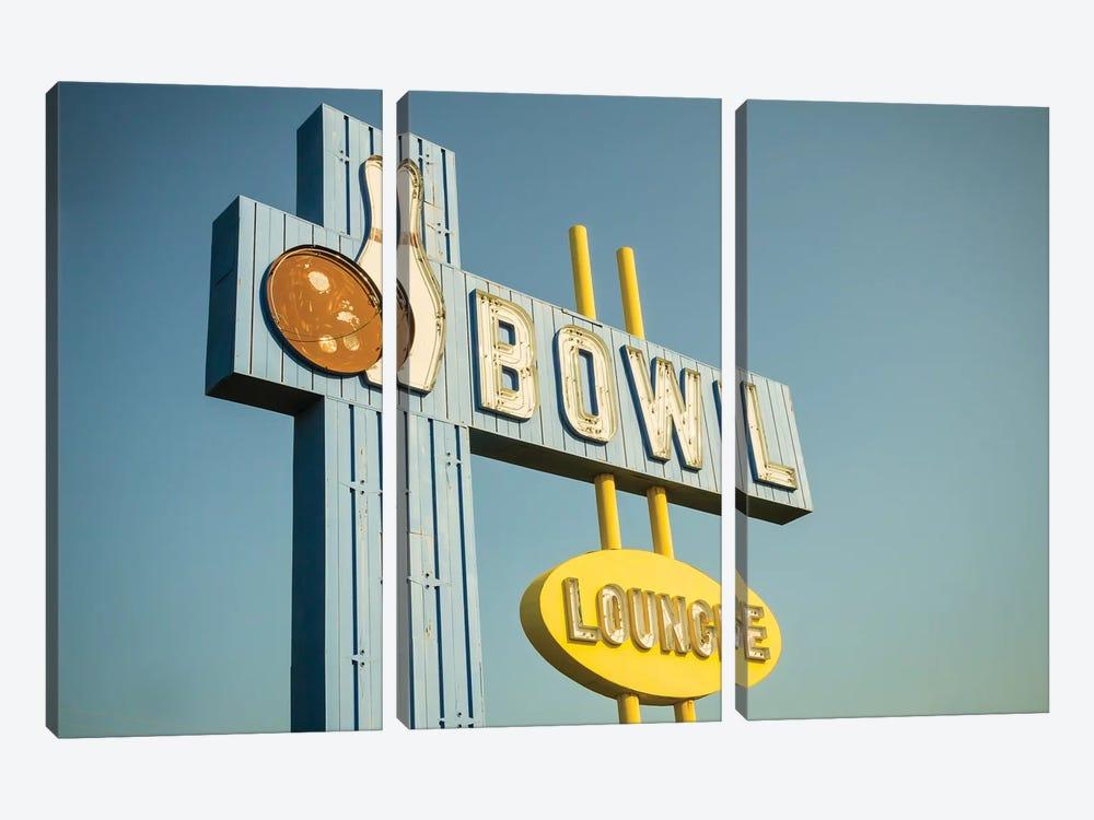 Vintage Bowl IV by Recapturist 3-piece Canvas Art Print