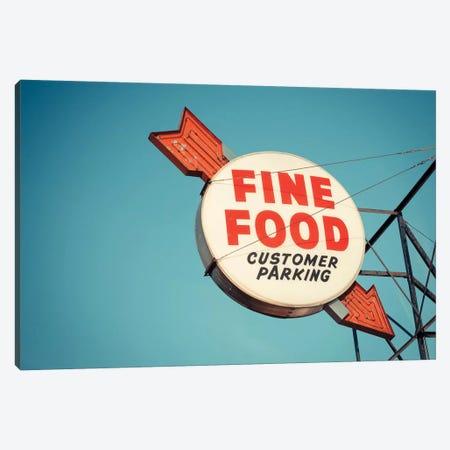 Vintage Diner III Canvas Print #CAP6} by Recapturist Canvas Wall Art