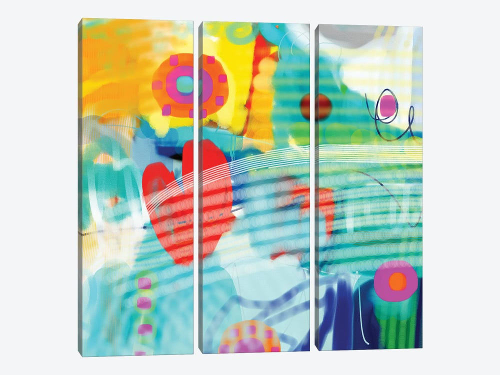 Find Your Way Back To Me by Christine Auda 3-piece Canvas Art