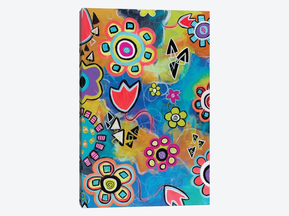 Flowershower by Christine Auda 1-piece Canvas Artwork