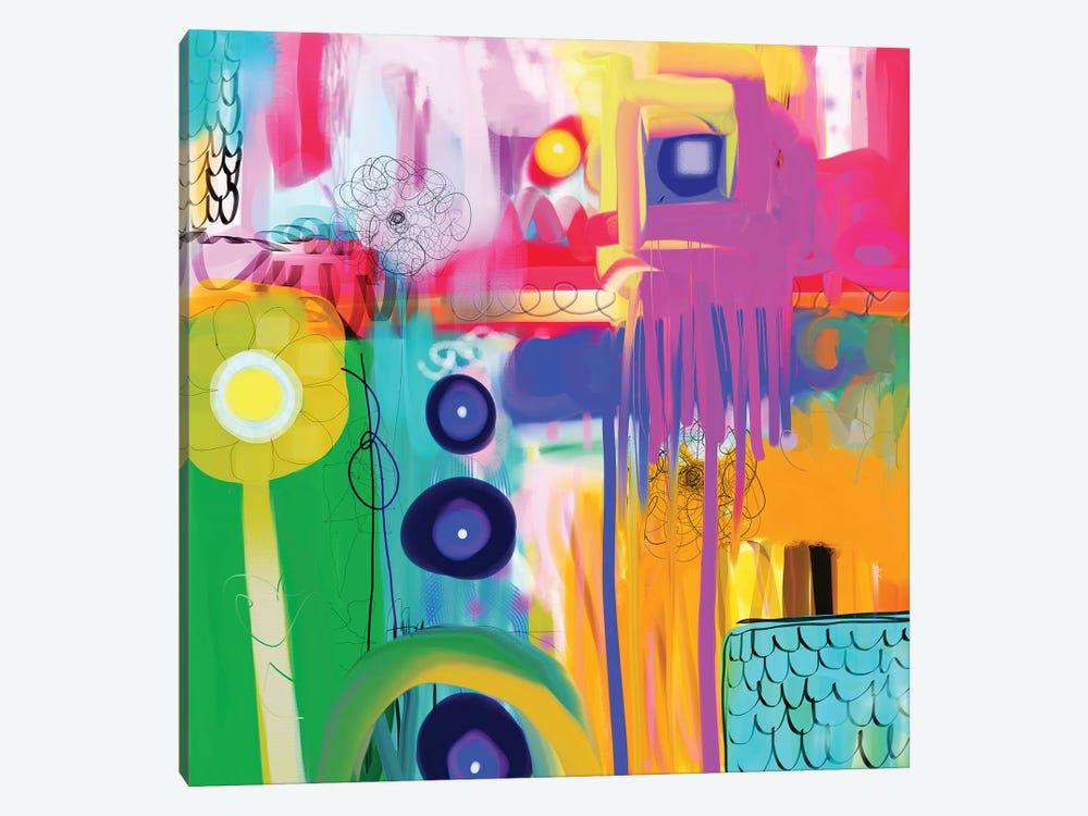 Free Spirit by Christine Auda 1-piece Canvas Print