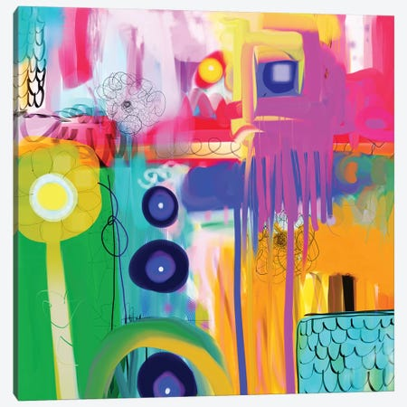 Free Spirit Canvas Print #CAU14} by Christine Auda Canvas Art Print