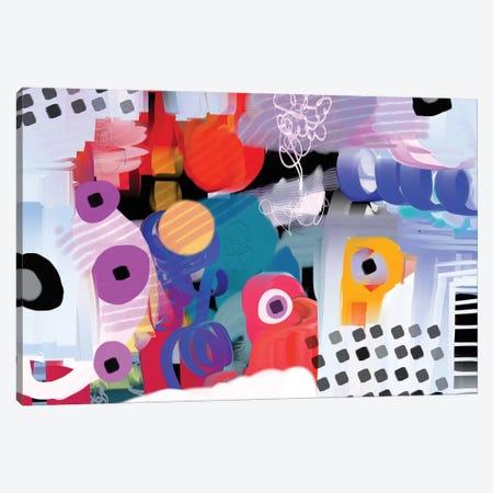 Funky Rythym Canvas Print #CAU16} by Christine Auda Canvas Print