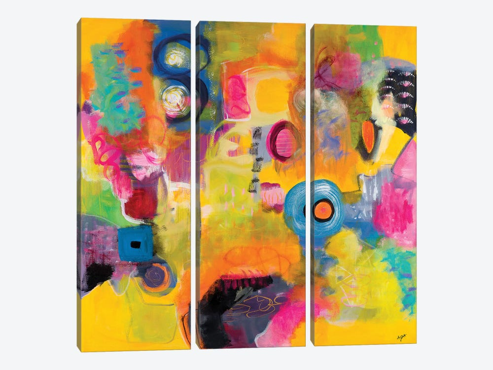 Glorious Day by Christine Auda 3-piece Canvas Artwork