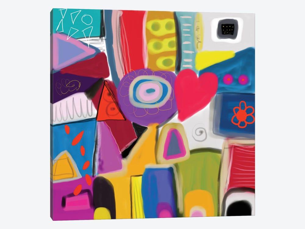Good Vibes by Christine Auda 1-piece Canvas Print