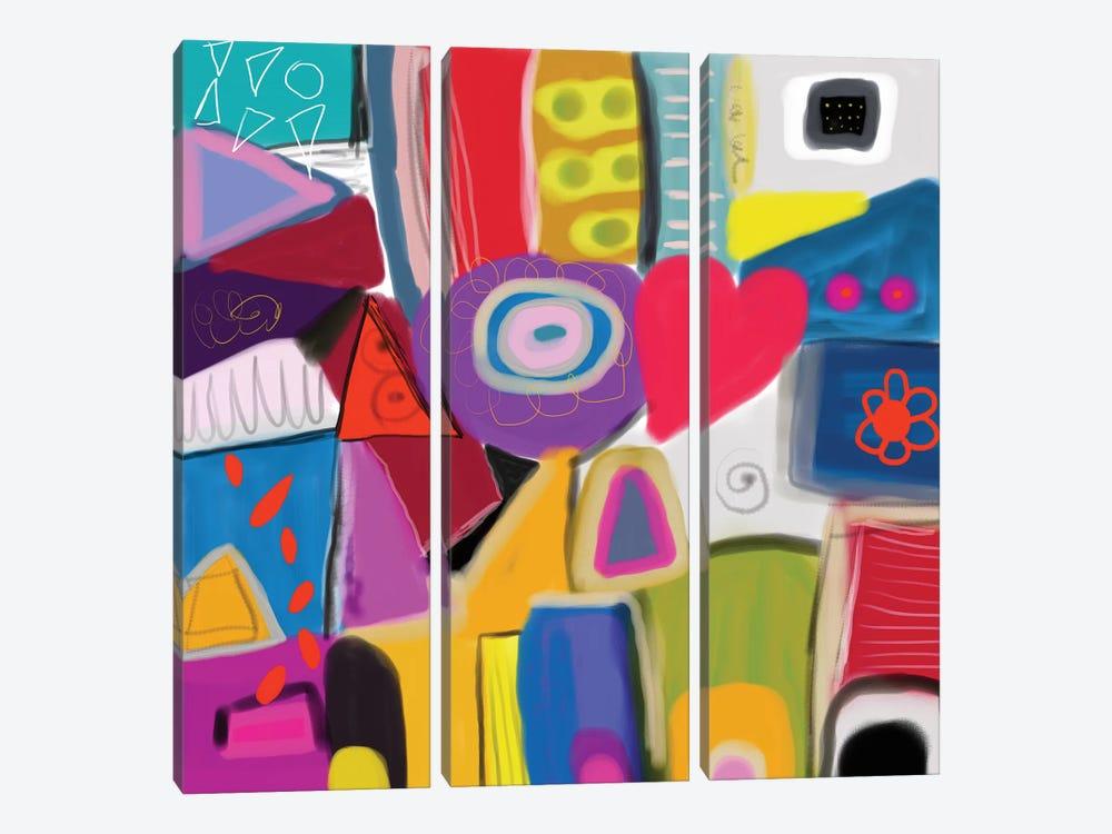 Good Vibes by Christine Auda 3-piece Art Print