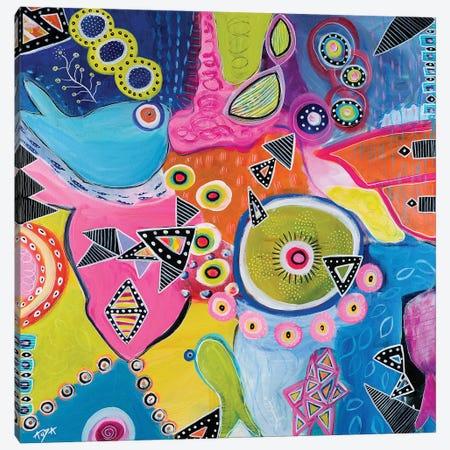 Great Barrier Reef Canvas Print #CAU19} by Christine Auda Canvas Wall Art