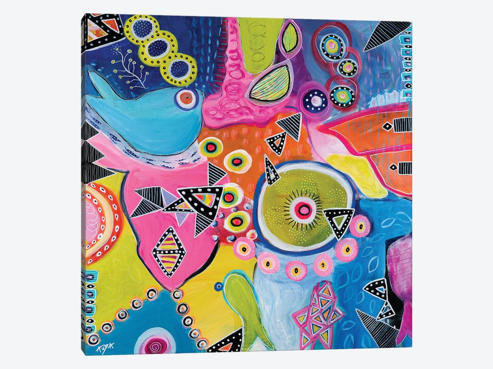 Great Barrier Reef by Christine Auda 1-piece Canvas Wall Art