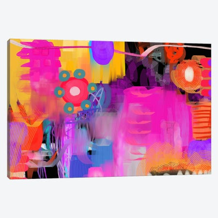 Hang With Me Canvas Print #CAU20} by Christine Auda Art Print