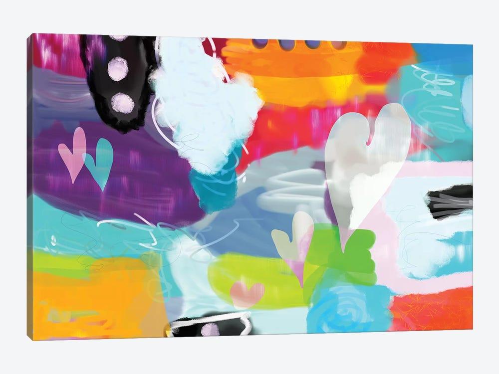 Heart Dance by Christine Auda 1-piece Art Print