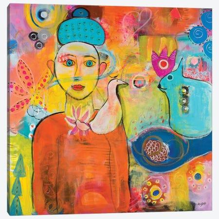 I Get You Canvas Print #CAU23} by Christine Auda Canvas Print