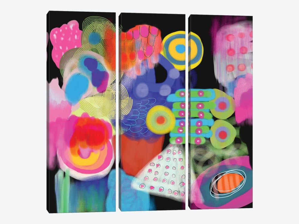 Kinetic Energy by Christine Auda 3-piece Art Print