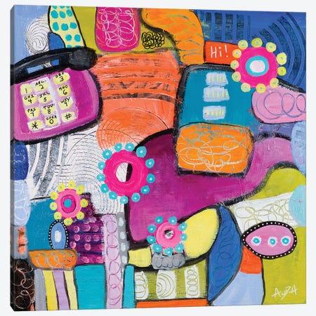 Landline Canvas Print #CAU26} by Christine Auda Canvas Wall Art
