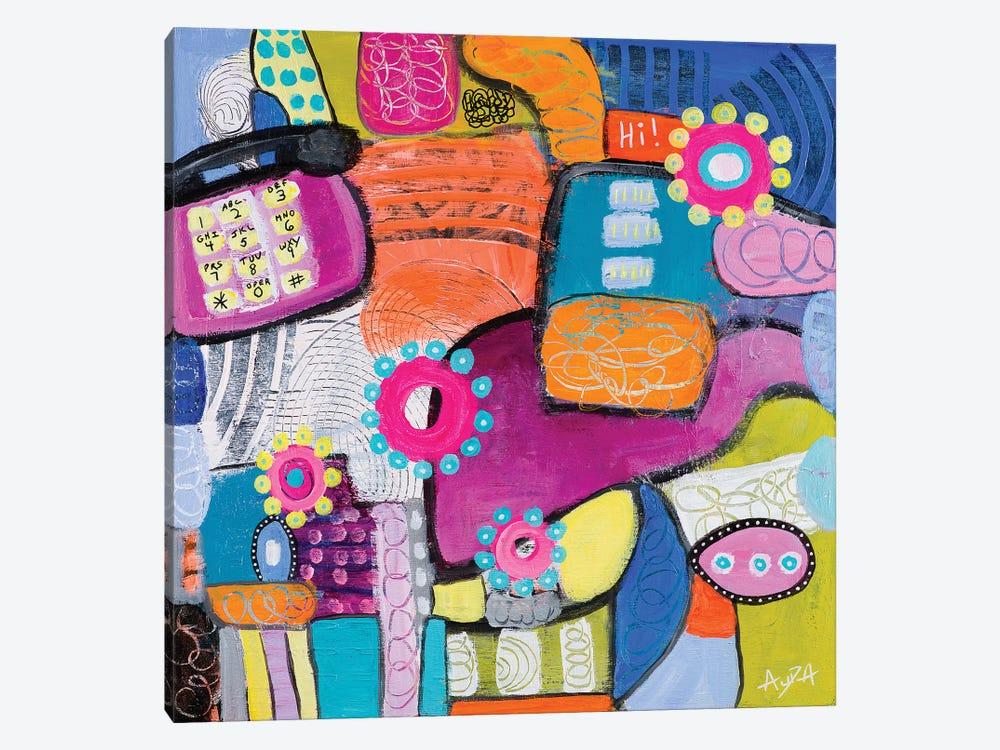 Landline by Christine Auda 1-piece Canvas Artwork