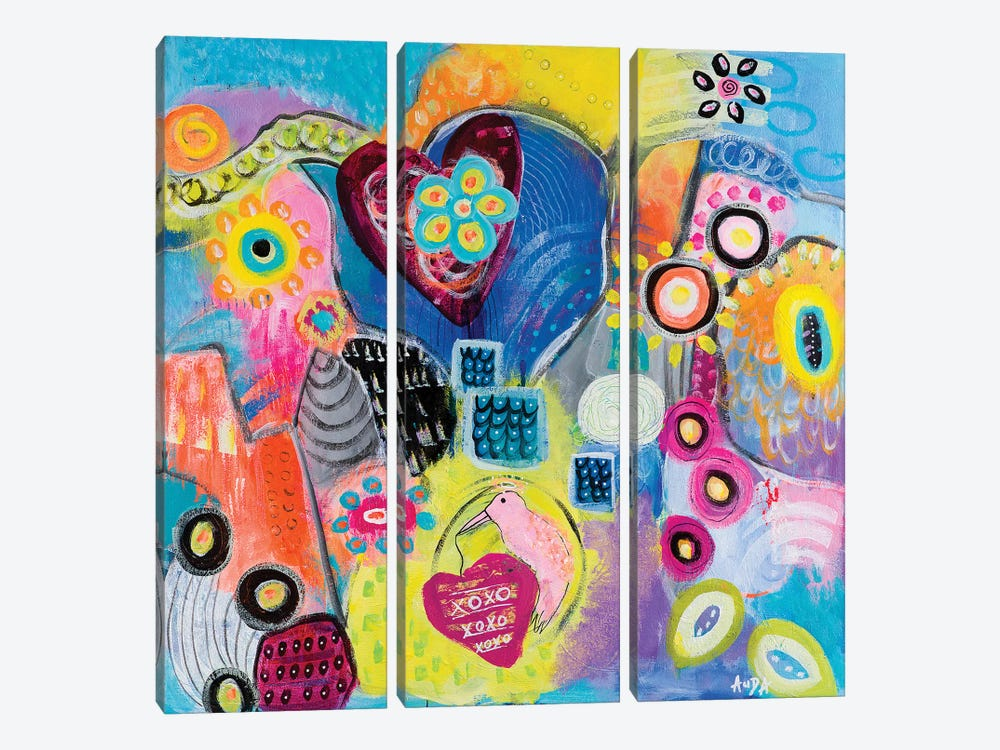 Love Guardian by Christine Auda 3-piece Canvas Wall Art