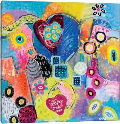 Love Guardian Canvas Art Print