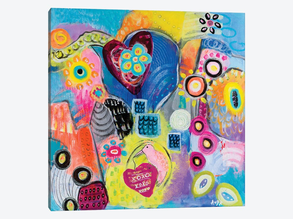 Love Guardian by Christine Auda 1-piece Canvas Art