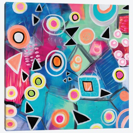 Affinity Canvas Print #CAU2} by Christine Auda Canvas Artwork