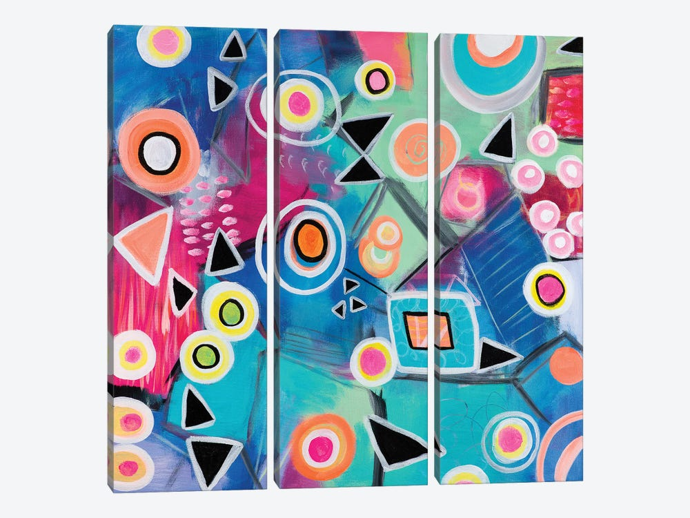 Affinity by Christine Auda 3-piece Canvas Print