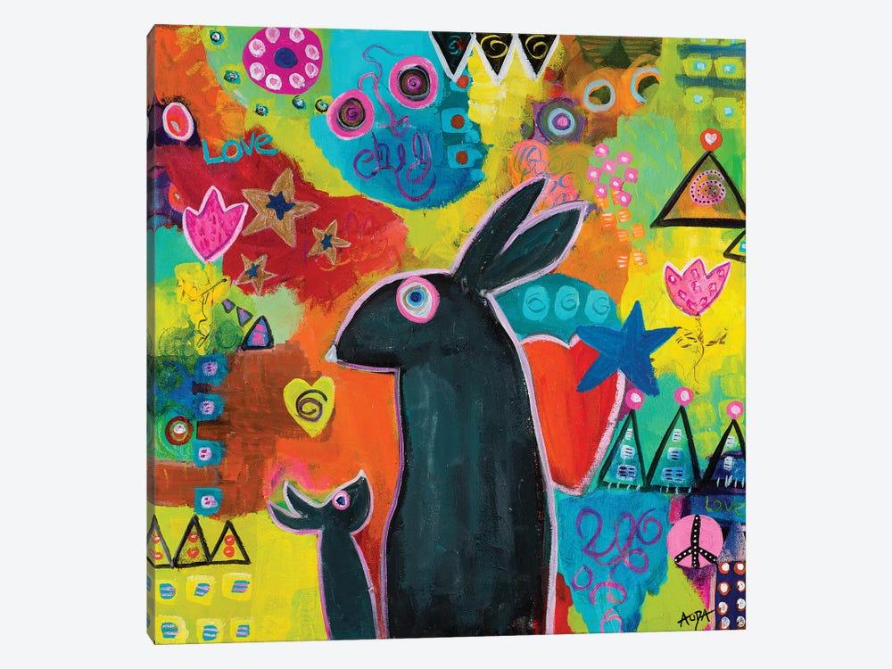 Mama Loves You by Christine Auda 1-piece Canvas Art Print