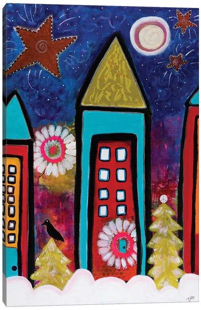 Nightbird Canvas Art Print