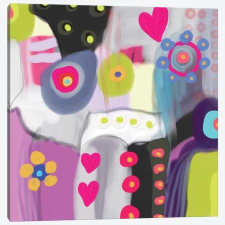 Send Me Love Canvas Print #CAU37} by Christine Auda Canvas Art Print