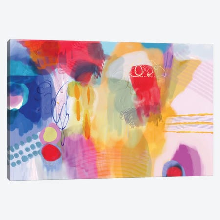 Serendipity Canvas Print #CAU38} by Christine Auda Canvas Artwork
