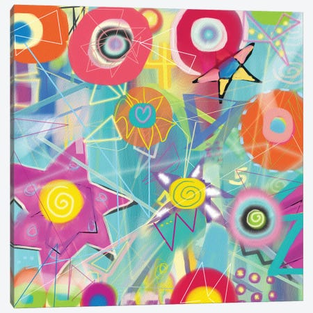 Starfield Canvas Print #CAU39} by Christine Auda Canvas Art