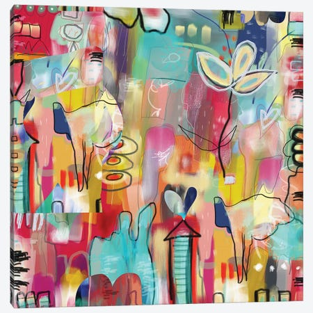 Believe Canvas Print #CAU3} by Christine Auda Canvas Art