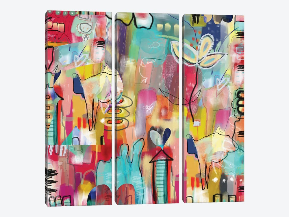 Believe by Christine Auda 3-piece Canvas Artwork