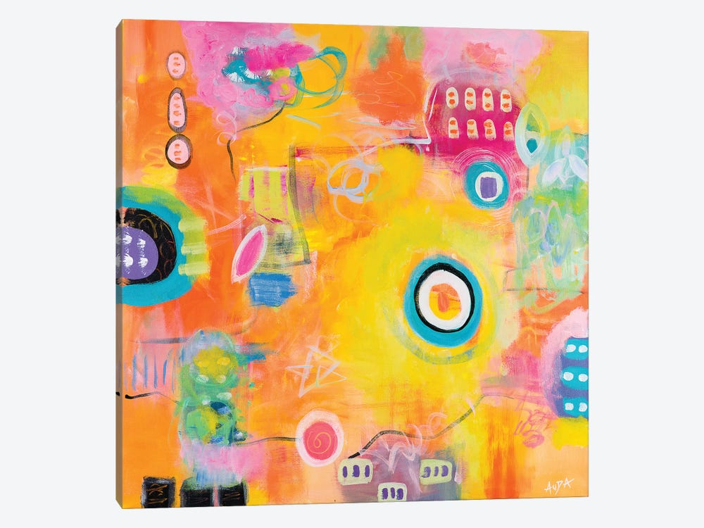 Sunshiny Day by Christine Auda 1-piece Canvas Print