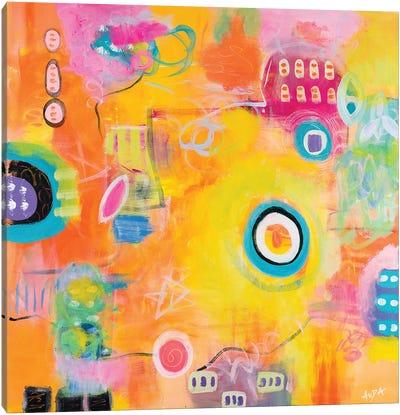 Sunshiny Day Canvas Art Print