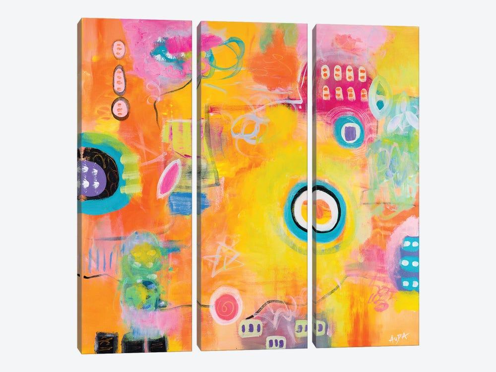Sunshiny Day by Christine Auda 3-piece Art Print